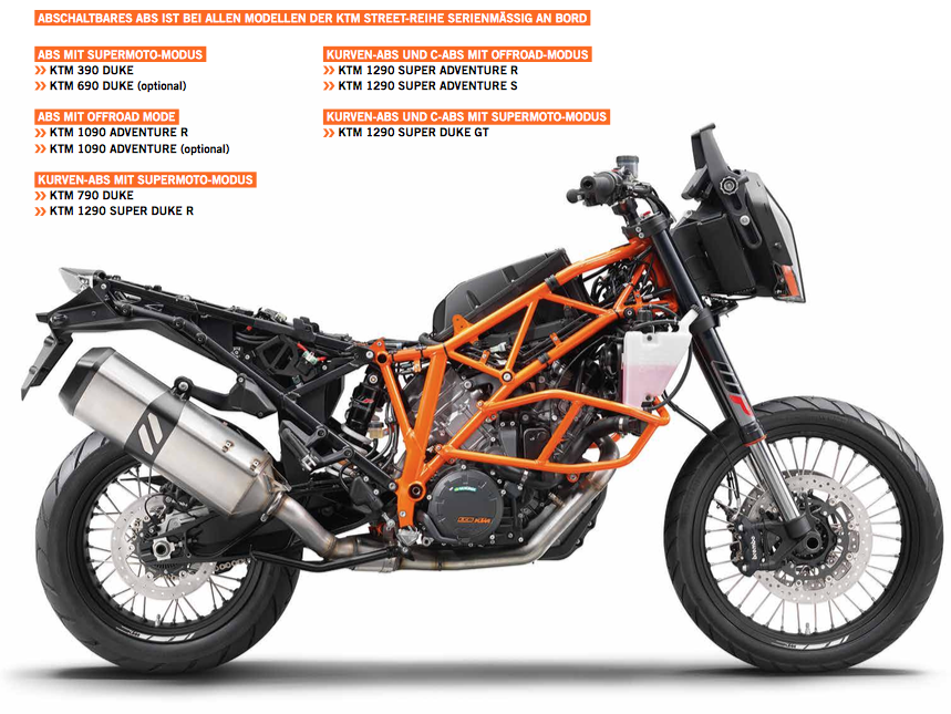 KTM Technik Guide Street